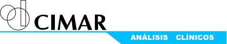 logo CIMAR - Análisis Clínicos en Tarancón (Cuenca)